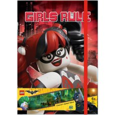 LEGO Batman Harley Quinn/Batgirl A5 Journal