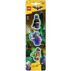 LEGO Batman Movie Eraser Set