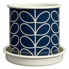 Orla Kiely Linear Stem Medium Plant Pot