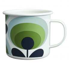 Orla Kiely Apple Enamel Mug