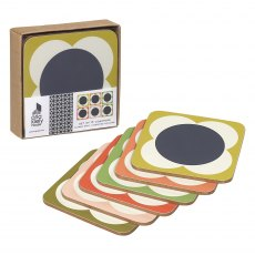 Orla Kiely Flower Spot Coasters Set