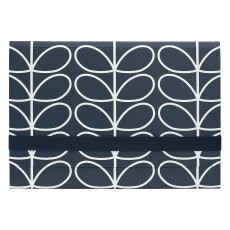 Orla Kiely Linear Stem Navy A4 Document Holder
