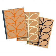 Orla Kiely Large Linear Stem Notebook Set