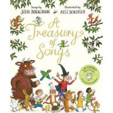 Julia Donaldson: A Treasury of Songs with CD