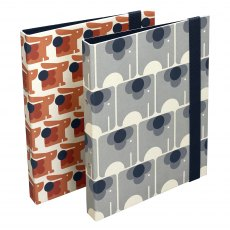 Orla Kiely Animal Ring Binder Set