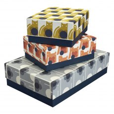 Orla Kiely Animals Storage Boxes