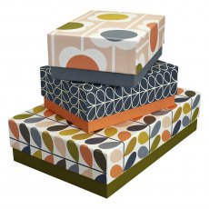 Orla Kiely Flowers Storage Boxes