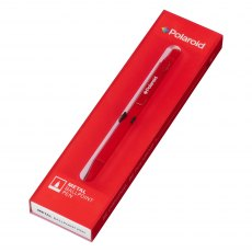 Polaroid Red Metal Ballpoint Pen