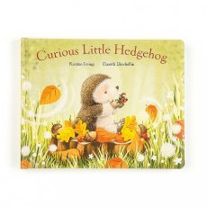 Jellycat Curious Little Hedgehog Book