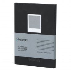Polaroid Black Soft Touch Notebook