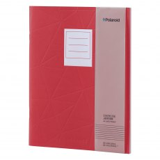 Polaroid Red Large Jotter Notebook