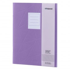 Polaroid Purple Large Jotter Notebook