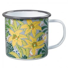 William Morris Enamel Mug