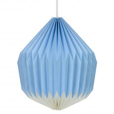 Cornflower Blue Lampshade