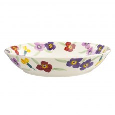 Emma Bridgewater Wallflower Border Medium Pasta Bowl
