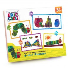 The Very Hungry Caterpillar 4 in 1 Puzzle
