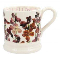 Emma Bridgewater Red Wallflowers 1/2pt Mug
