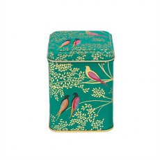 Sara Miller Green Birds Tin