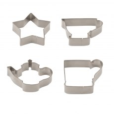 Emma Bridgewater Polka Dot Cookie Cutters in Tin