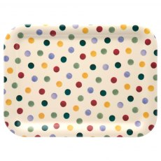 Emma Bridgewater Medium Polka Dot Melamine Tray