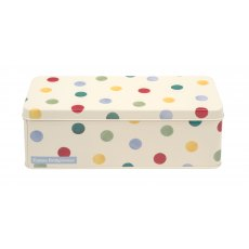Emma Bridgewater Polka Dot Long Deep Rectangular Storage Tin