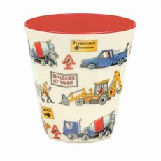 Emma Bridgewater Builders At Work Melamine Beaker