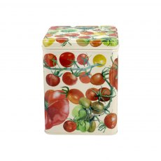 Emma Bridgewater Vegetable Garden Large Square Caddy Tin