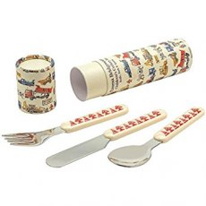 Emma Bridgewater Builders At Work 3 Piece Cutlery Set