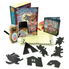 Three Little Pigs Shadow Puppets Set