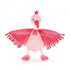 Jellycat Flapper Flamingo Soother