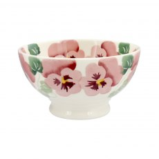 Emma Bridgewater Pink Pansy French Bowl