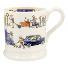 Emma Bridgewater School Run 1/2pt Mug