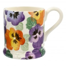 Purple Pansy 0.5pt Mug