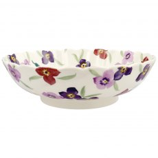 Emma Bridgewater Wallflower Large Fluted Dish