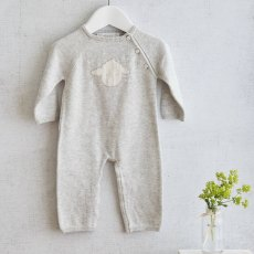 Cashmere Blend Little Lamb Babygrow 0-3m