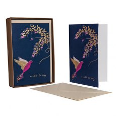 Sara Miller Hummingbird 'A Note to Say' Notecard Set