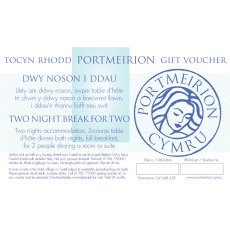 Two Night Break For 2 Portmeirion Gift Voucher