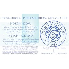 A Night's Stay For 2 Portmeirion Gift Voucher