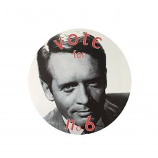 The Prisoner Car Sticker Vote for no 6
