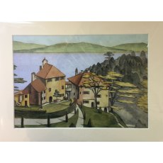 View From Chantry by Meryl Watts Mounted Print