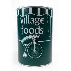 The Prisoner Village Food Tin with Mint Humbugs