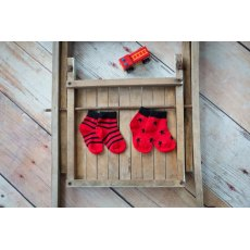 Blade & Rose Red & Black Socks 6-12 Months