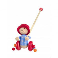 Paddington Bear Wooden Push Along