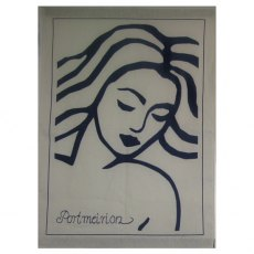 Portmeirion Mermaid Tea Towel