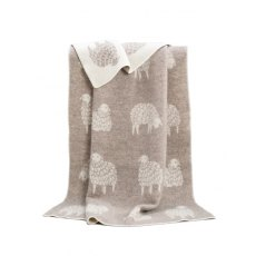 Mima Soft Brown Blanket