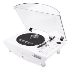 GPO Jive Record Player in White