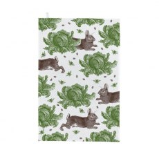 Thornback & Peel Classic Rabbit & Cabbage Tea Towel