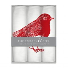 Thornback & Peel Robin Handkerchief Box Set