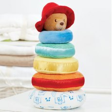 Paddington Bear Stacking Rings