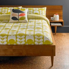Orla Kiely Dandelion Tulip Flannel Single Duvet Cover